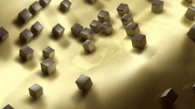 Sprinkled Nanocubes Could Hold Light Tight for Efficient Solar Panels