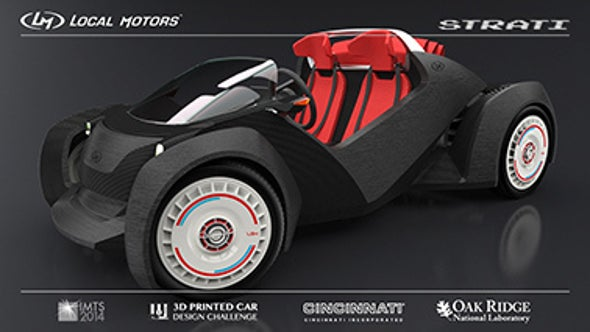 World's First Three-Dimensional Printed Car Made in Chicago
