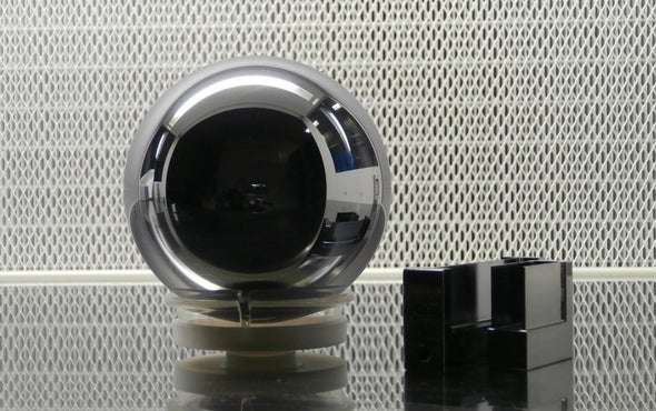 Sphere Made to Redefine Kilogram Has Purest Silicon Ever Created