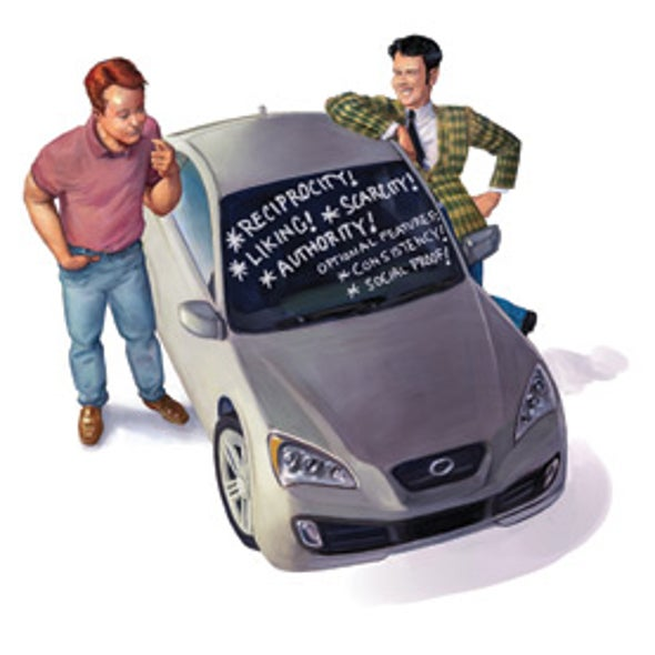 Rules of the Road: Using the Science of Persuasion When Buying a Car