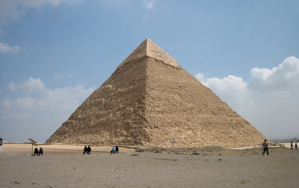 Cosmic-Ray Particles Reveal Secret Chamber in Egypt's Great Pyramid