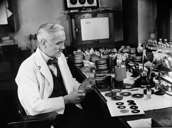 Penicillin Wasn't Alexander Fleming's First Major Discovery