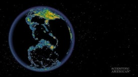 Light Pollution Map Shows Dark Skies Are Rare