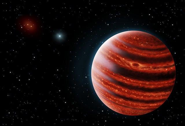 Astronomers Glimpse a Young Jupiter, 51 Eridani b