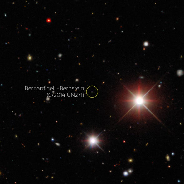 Astronomers Thrill at Giant Comet Flying into Our Solar System