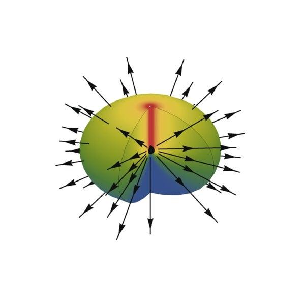 Quantum Cloud Simulates Magnetic Monopole