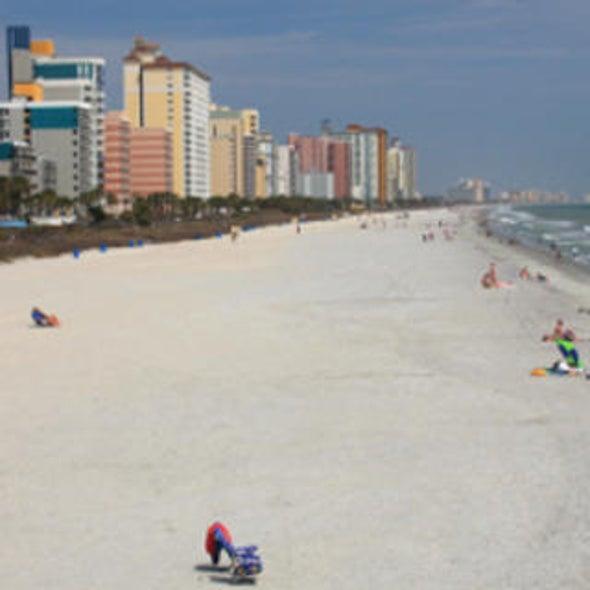 Slip Sliding Away Myrtle Beach Erosion Could Explain Sand Loss Along The U S East
