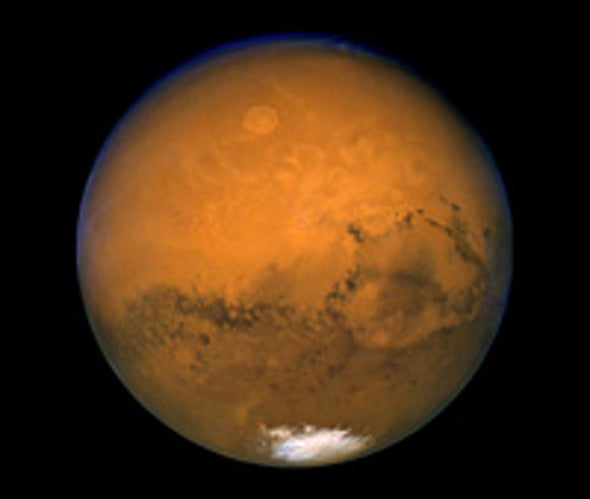 Dim Martian Surface May Fuel Global Warming
