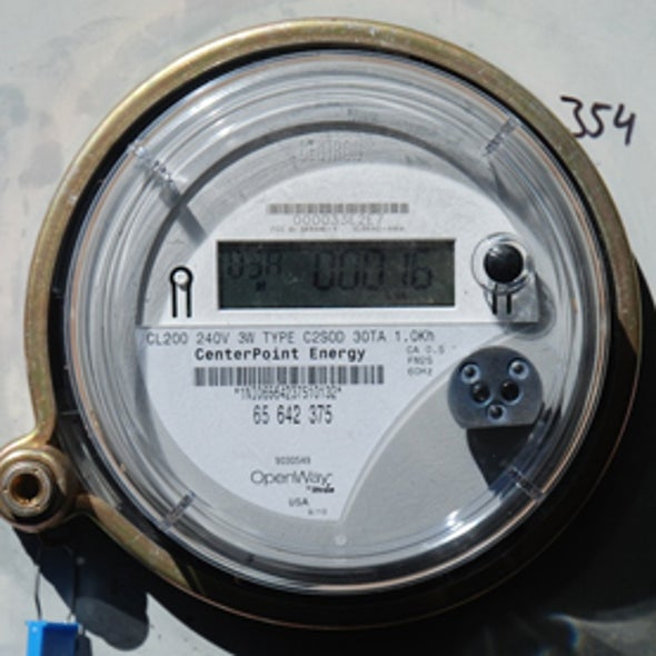 Smart Meter Use Will Grow, But More Slowly