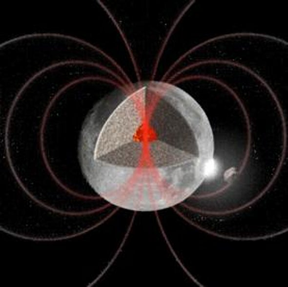 Mystery of Moon's Magnetic Field Deepens