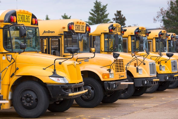 Electric School Buses Reduce Pollution, but New Infrastructure Deal Slashed Funding