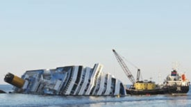 Refloating the Wrecked <i>Costa Concordia</i> Cruise Ship Could Ruin Marine Sanctuary