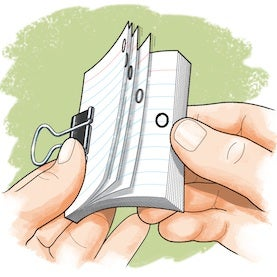 Set-in-Motion Science: Apparent Movement in Flip-Books