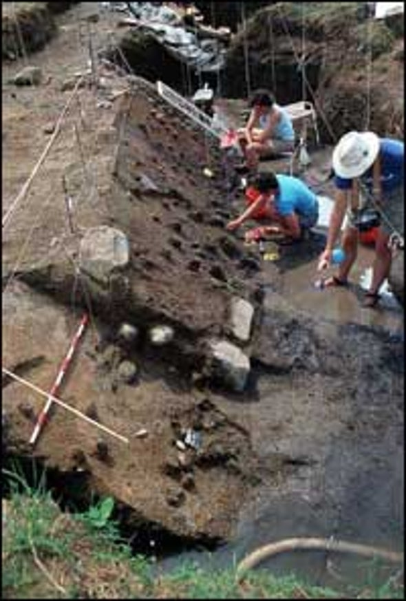 Scorched Remains Suggest Ancient Humans Were Firestarters