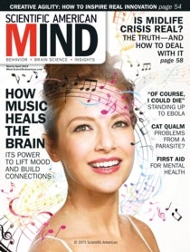 Scientific American Mind Volume 26, Issue 2