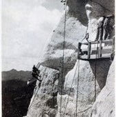 A Majestic Mountainside Monument to Four Presidents, 1931