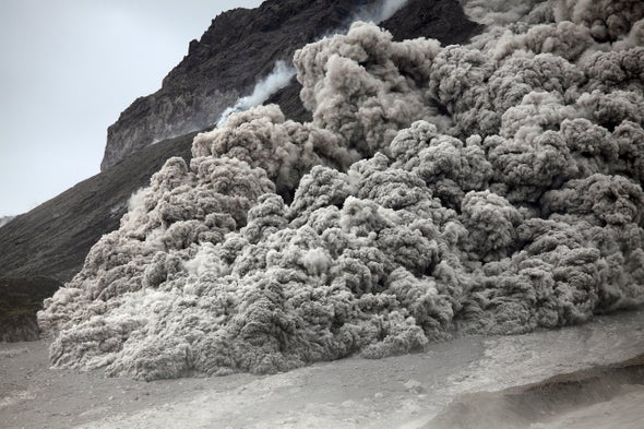 Deadly Volcanic Flows Glide on Their Own Cushion of Air