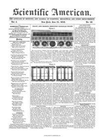 Scientific American Volume 3, Issue 40