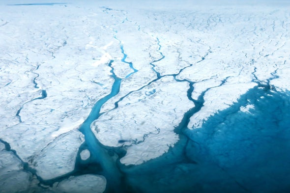 Darker Ice Causes Greenland to Melt Faster