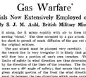 Gas Warfare