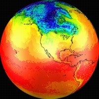 surface air temperatures
