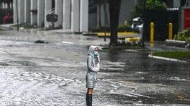 Record-Breaking Tropical Storm Eta Drenches Florida