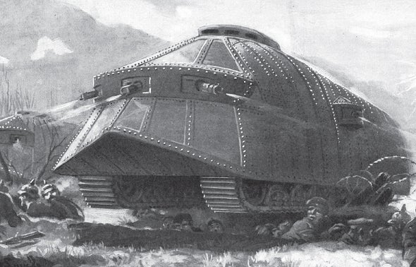 In 1916 a New Technology for Warfare: Tanks