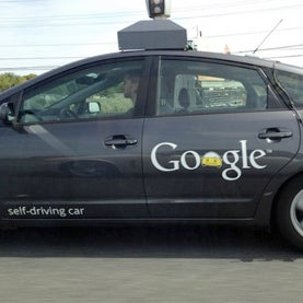 google driverless car, google self driving car, google car