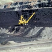 Surface coal mining in Wyoming