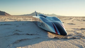 The Buckeye Bullet Electric Vehicle Will Go 400 MPH