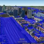 BRUSSELS, BELGIUM: Under 25 meters of sea level rise.