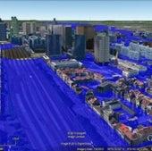 BRUSSELS, BELGIUM: Under 25 meters of sea level rise.