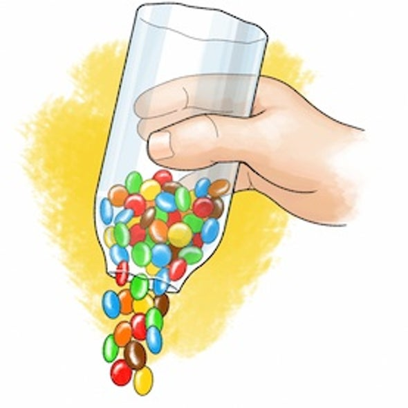 Spilling Science: Can Solid Candies Flow Like Liquids?