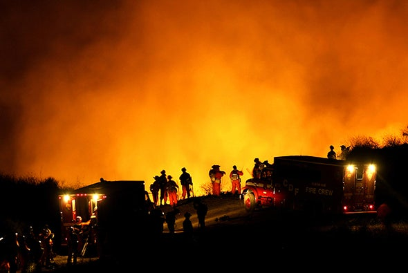 Firestorm Leaves Mass Destruction in California