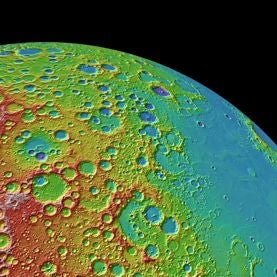 The Hole Thing: Lunar Topographic Map Provides Rich Record of Impacts on the Moon