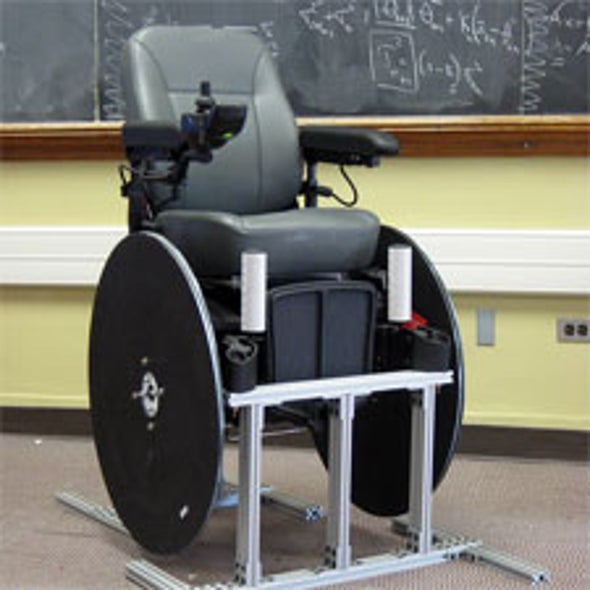 """On a Roll: Autonomous Navigation Lasers and Robotics Push """"Smart"""" Wheelchair Technology to the Cutting Edge [Slide Show]"""