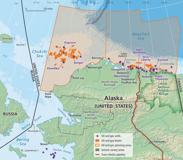 Sonar Spots Invisible Arctic Oil Spills