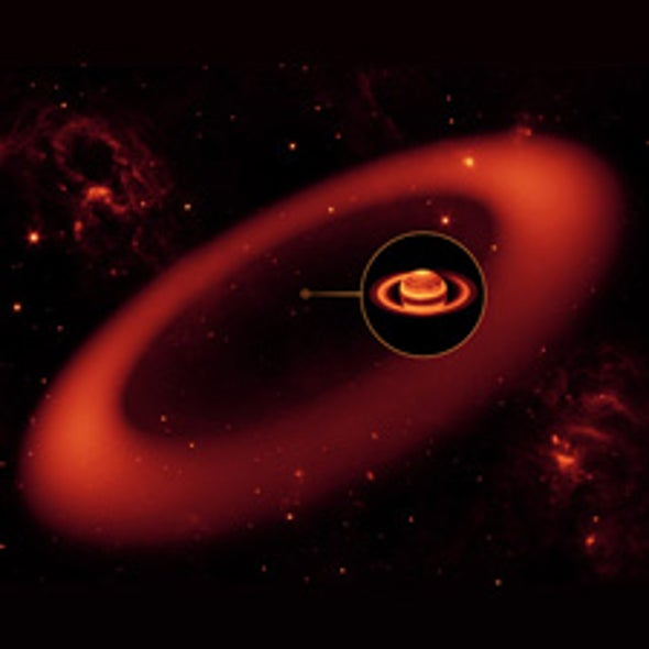 Astronomers Discover Solar System's Largest Planetary Ring Yet around Saturn [Update]