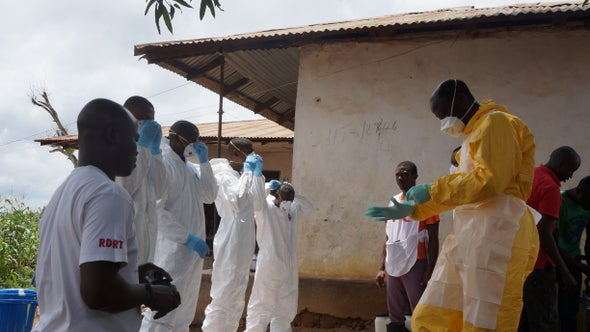No Airlifts for Sickened African Ebola Docs