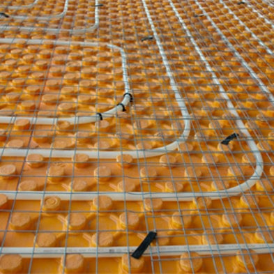 is under floor radiant heating more efficient than