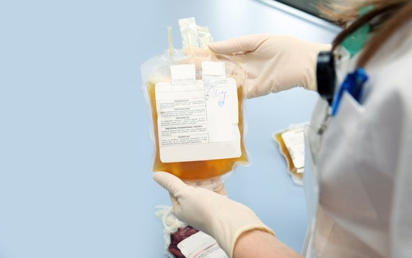 FDA Issues Warning about Young-Blood Transfusions