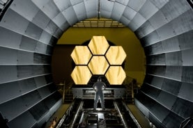 James Webb space telescope mirror segments
