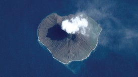 Volcanic Eruptions Detected from Space