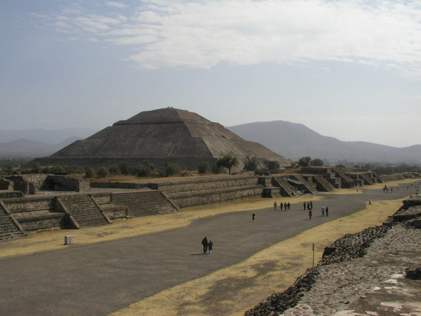 Ancient Mexican Metropolis Engaged in Hare-Raising Activity