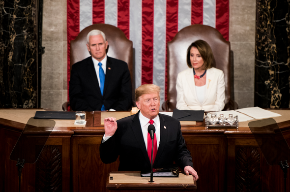 Trump Touts Infrastructure in State of the Union; Ignores Climate Change