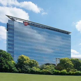 The Glaxo Smith Kline Headquarters in Brentford, England.