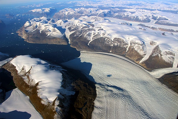 Greenland Glacier Melt Actually Warped Earth's Crust