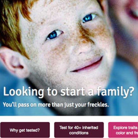 Personal-Genetics Firm Denies Pursuit of 'Designer Babies'