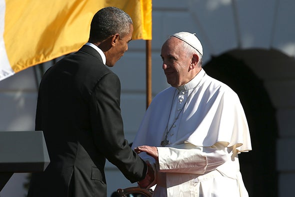 Pope Francis Supports Pres. Obama's Message on Climate Change