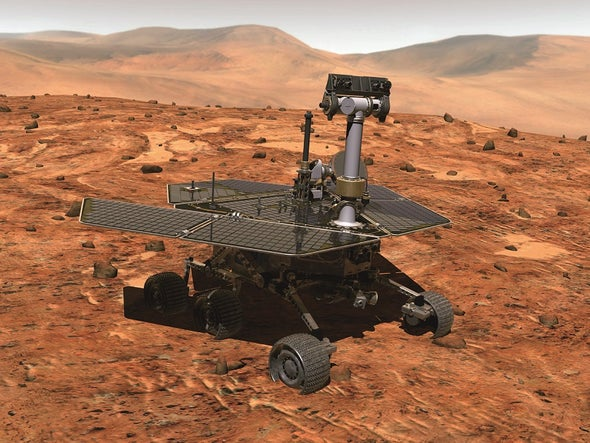 Finally Over for Mars Rover